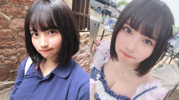 矢作萌夏のビジュアル